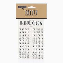 Knucks by Tattly