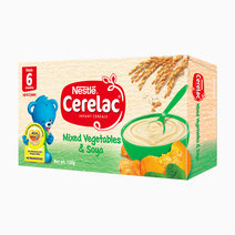 Mixed Vegetables & Soya Baby Food (120g) by Cerelac