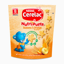 Nutripuffs Banana and Orange (50g) by Cerelac
