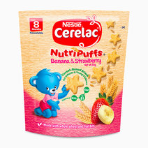 Nutripuffs Banana and Strawberry (50g) by Cerelac