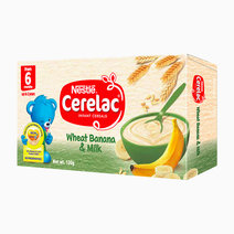 Wheat Banana & Milk Baby Food (120g) by Cerelac