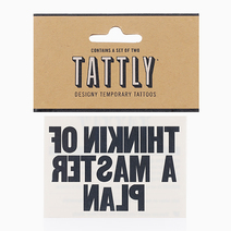 Thinkin Of A Master Plan by Tattly