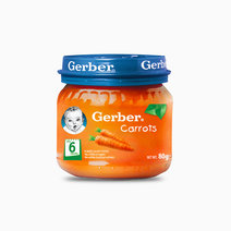 Carrot Puree Baby Food (80g) by Gerber