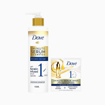 1 Minute Intense Repair Serum Shampoo (150ml) + FREE 1 Minute Serum Mask (20ml) by Dove
