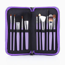 11-Piece Brush Set (Purple) by PRO STUDIO Beauty Exclusives