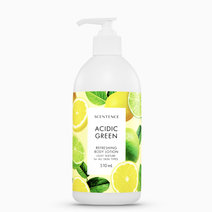 Green Refreshing Body Lotion by Scentence
