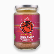 Cinnamon Peanut Butter (340g) by Rose's Kitchen