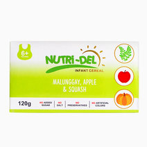 Malunggay, Apple & Squash Infant Cereal (120g x 3) by Nutri-Del