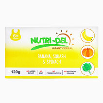 Banana, Squash & Spinach Infant Cereal (120g x 3) by Nutri-Del