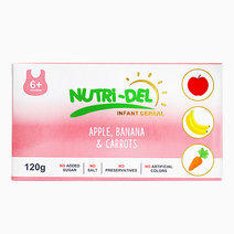 Apple, Banana & Carrots Infant Cereal (120g x 3) by Nutri-Del