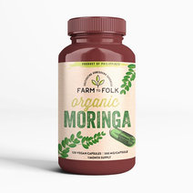Organic Moringa Capsules (60g) by Farm to Folk