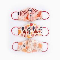 Washable Face Masks Set C by Pink Lemon Wear