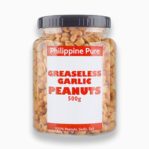 Greaseless Garlic Peanuts (500g Jar) by Philippine Pure
