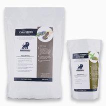 Chia Seeds (2kg) + Stevia Powder (250g) by Roarganics