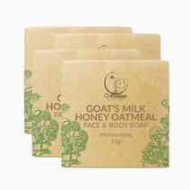All Organics Goat's Milk Honey Oatmeal Soap (25g) (4 Pcs.) by Milea