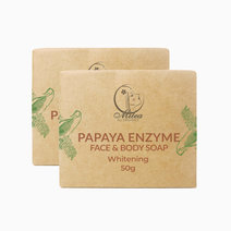 Papaya Soap (50g) (2 Pcs.) by Milea