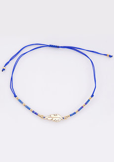 Feather Pull Bracelet by Adorn by MV