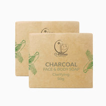 Charcoal Soap (50g) by Milea