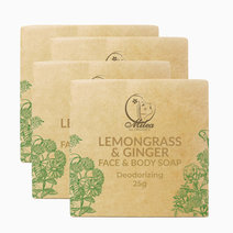 Lemongrass & Ginger Soap (25g) by Milea