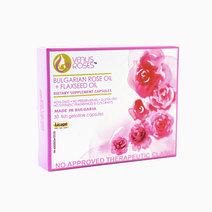 VenusRoses Capsules: Bulgarian Rose + Flaxseed by VenusRoses