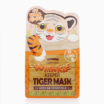 Wrinkle Keeper Tiger Mask by Dewytree