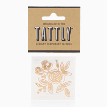Gold Floral by Tattly