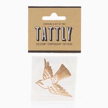 Cartolina Bird (Gold) by Tattly