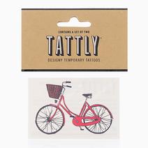 Red Bike by Tattly