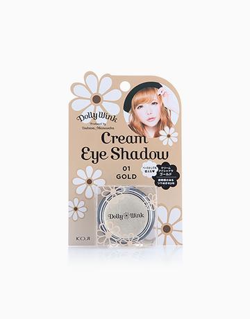Gold Cream Eyeshadow by Dolly Wink