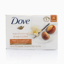 Dove Shea Butter (4 Bars) by Dove