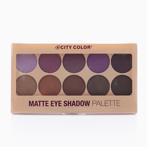 Matte Eyeshadow Palette by City Color