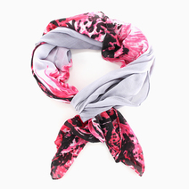 Floral Art Scarf by Luxe Studio