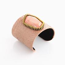 100% Snakeskin Cuff (Beige) by Luxessory Manila