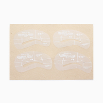 4-Piece Eyebrow Stencil Set # 2 by PRO STUDIO Beauty Exclusives