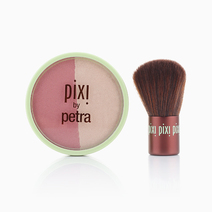 Rose Gold Blush Duo + Kabuki by Pixi by Petra