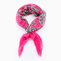 Polka Dots & Paisley Scarf by Luxe Studio