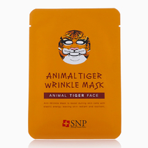 Animal Tiger Wrinkle Mask by SNP