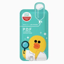 Line Friends P.D.F.A.C. Dressing Ampoule Mask  by Mediheal