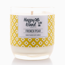 French Pear Candle (8oz/240ml) by Happy Island Candle Co