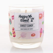 Sweet Candy (8oz/240ml) by Happy Island Candle Co