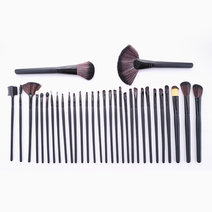32-Piece Brush Set with Case by Brush Work