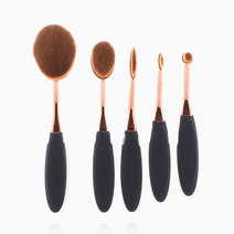 5-Piece Brush Set (Rose Gold) by PRO STUDIO Beauty Exclusives