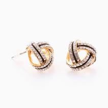 Rhinestone Earrings by Luxe Studio