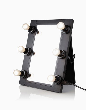 6-Bulb Foldable Mirror by Beauty Box
