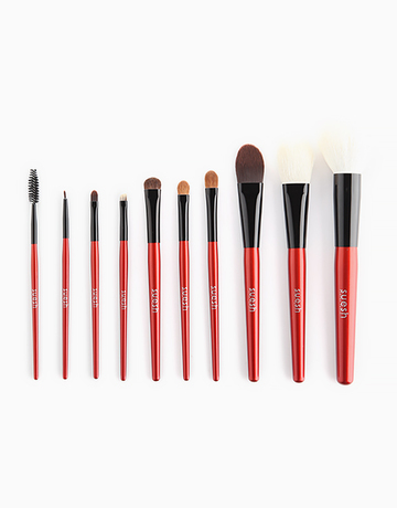 10-Piece Essential Brush Set by Suesh
