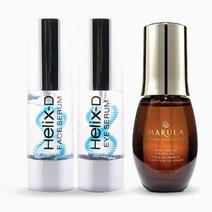 Helix-D Serums + Marula Oil Set by Helix-D