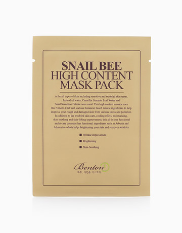 Snail Bee High Content Mask by Benton