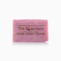 Lavender Loofah Soap by The Soap Farm