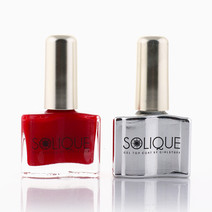 Manila Girl + Gel Top Coat by Solique