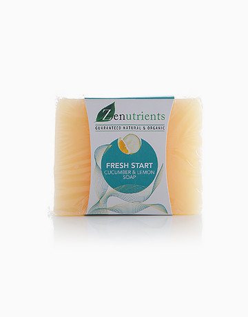 Cucumber & Lemon Soap by Zenutrients